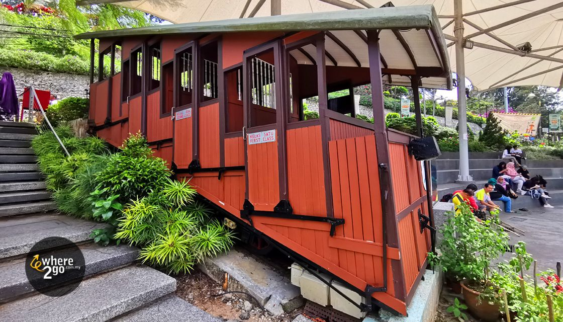Penang Hill First Funicular Train